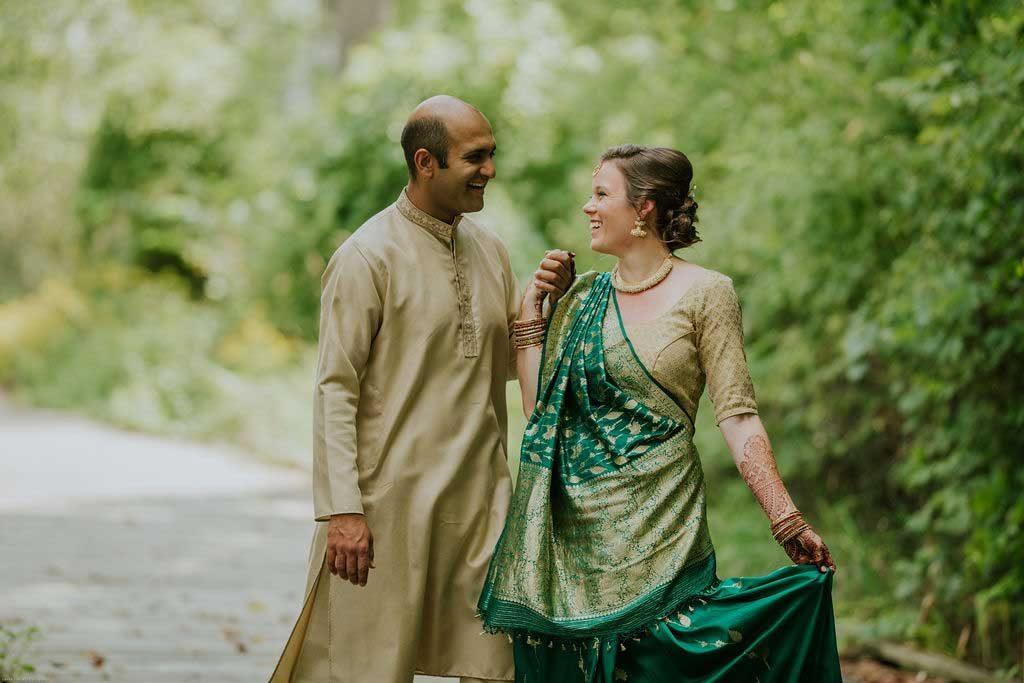Laurel & Vivek's Indian Wedding at the Grand Ledge Opera House