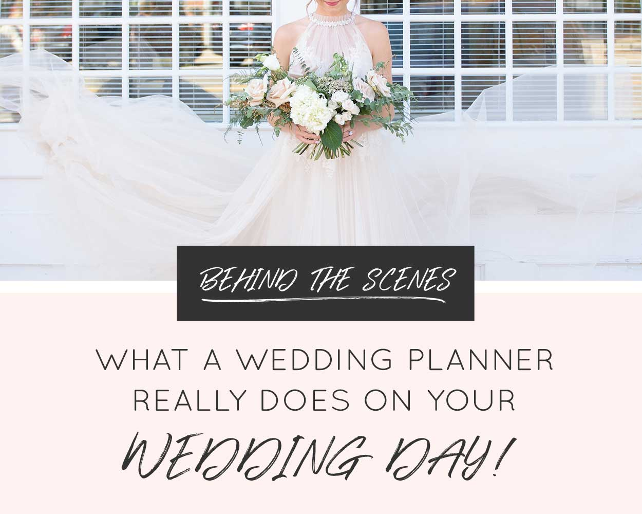 What a Michigan Wedding Planner Really Does on Your Wedding Day